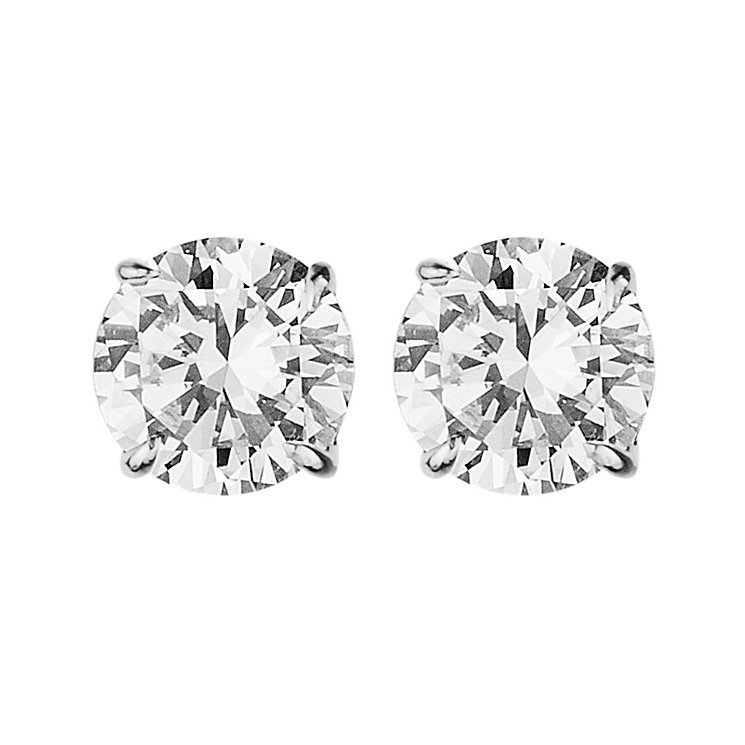 Dyrberg Kern Nene Stainless Steel Crystal Stud Earrings - Product number 2049015