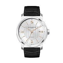 Baume & Mercier Classima men's black leather strap watch - Product number 2049309