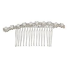 Mikey Bridal Crystal And Imitation Pearl Hair Piece - Product number 2049716