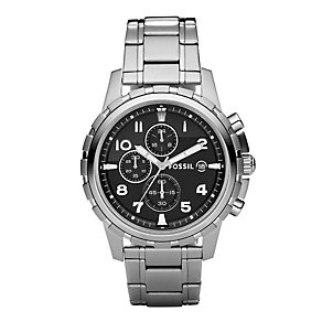 Fossil Dean men's chronograph stainless steel bracelet watch - Product number 2050609