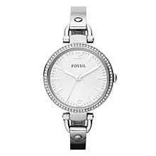 Fossil Georgia Glitz ladies' stainless steel bracelet watch - Product number 2051516