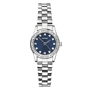 Sekonda Ladies' Stone Set Blue Dial Watch - Product number 2064014