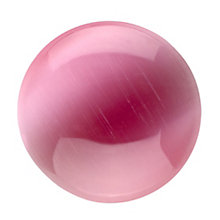 Lucet Mundi Star pink catseye coin - large - Product number 2064103