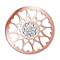 Lucet Mundi rose gold-plated circle love coin - large - Product number 2064138