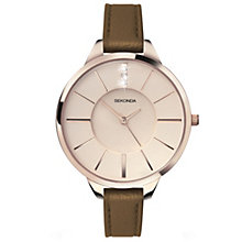 Sekonda Editions Crystalla Ladies' Rose Gold-Plated Watch - Product number 2064197