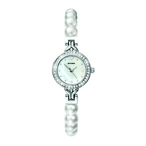 Sekonda White Mother Of Pearl Crystal & Pearl Bracelet Watch - Product number 2064421