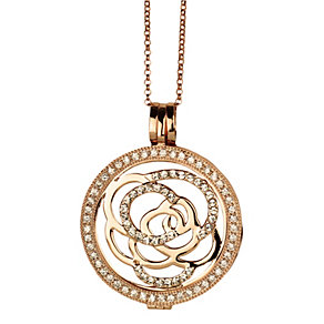 Lucet Mundi rose gold-plated rose crystal coin set - large - Product number 2064472