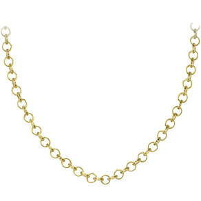 """Lucet Mundi 24"""" yellow gold-plated loop chain - Product number 2064510"""