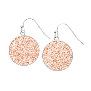 Lucet Mundi Peachey crystal drop earrings - Product number 2064553