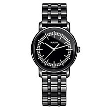 Rado Diamaster ladies' black ceramic bracelet watch - Product number 2087626