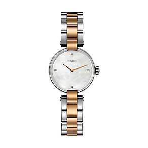 Rado Coupole ladies' diamond two colour bracelet watch - Product number 2087952