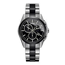 Rado men's stainless steel & black ceramic bracelet watch - Product number 2088185
