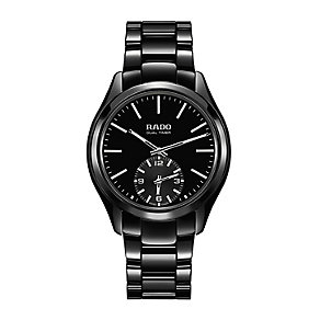 Rado men's black hyperchrome touch bracelet watch - Product number 2088428