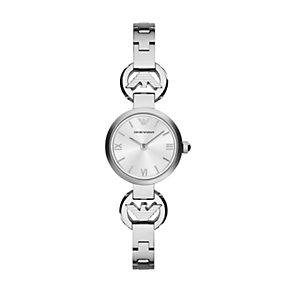 Emporio Armani ladies' mini stainless steel bracelet watch - Product number 2095009