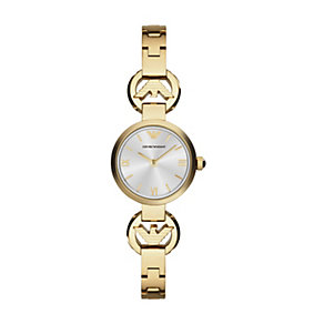 Emporio Armani Ladies' Gold Tone Bracelet Watch - Product number 2095157