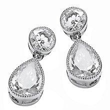 Attwood & Sawyer by Buckely Drop Crystal Earrings - Product number 2118874