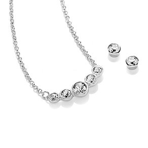 Attwood & Sawyer By Buckley Crystal Earring and Necklace Set - Product number 2118882