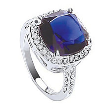 Attwood & Sawyer By Buckley Sapphire Blue Ring Medium - Product number 2119102