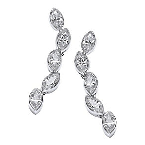 Attwood & Sawyer By Buckley Cubic Zirconia Drop Earrings - Product number 2119110