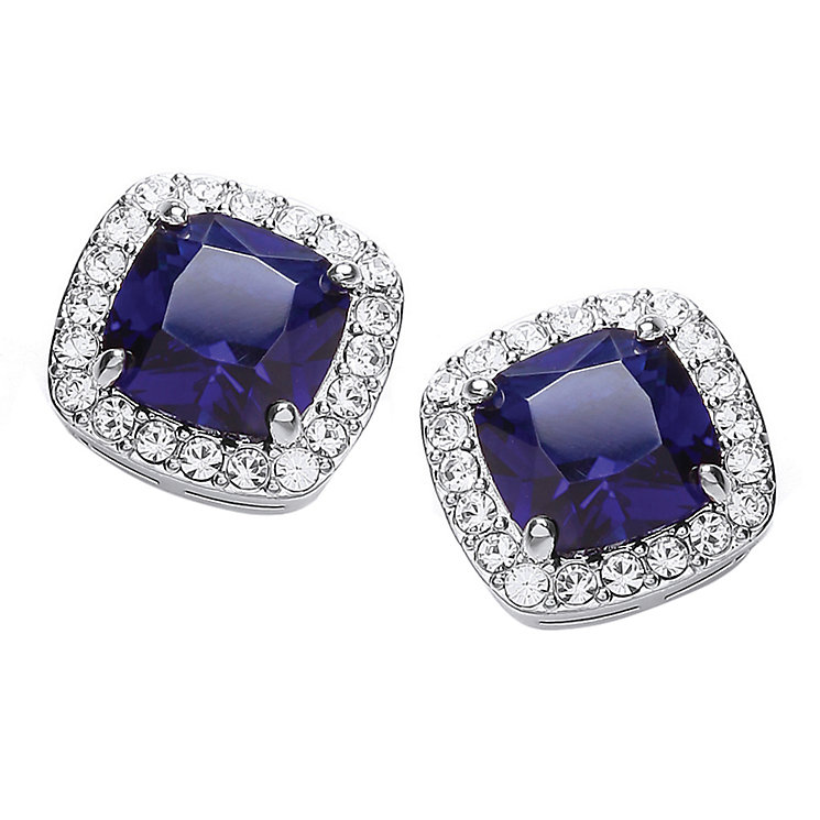 Attwood & Sawyer by Buckley Sapphire Blue Stud Earrings - Product number 2119145