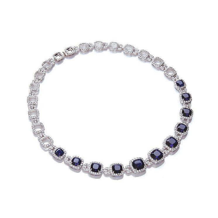 Attwood & Sawyer by Buckley Sapphire Blue Collar Necklace - Product number 2119390
