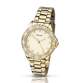 Sekonda Temptations Ladies' Gold-Plated Bracelet Watch - Product number 2135817