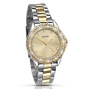 Sekonda Temptations Ladies' Two Colour Bracelet Watch - Product number 2137674