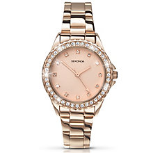 Sekonda Temptations Ladies' Rose Gold-Plated Bracelet Watch - Product number 2138743