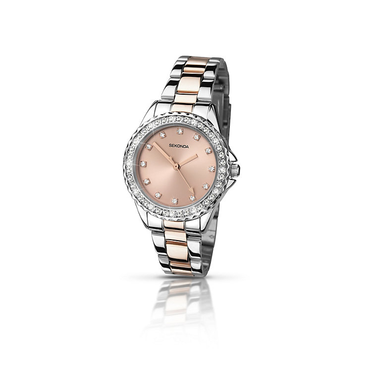 Sekonda Temptations Ladies' Two Colour Bracelet Watch - Product number 2139235