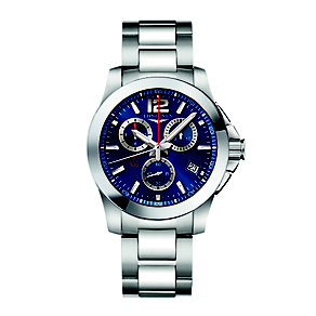 Longines men's stainless steel bracelet watch - Product number 2162385