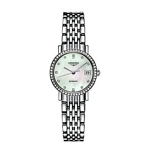 Longines ladies' stainless steel bracelet watch - Product number 2162679