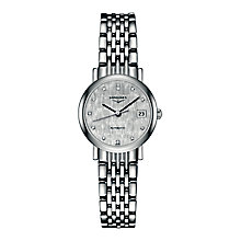 Longines ladies' stainless steel bracelet watch - Product number 2162687