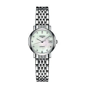 Longines ladies' stainless steel bracelet watch - Product number 2162695