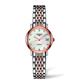 Longines ladies' two colour bracelet watch - Product number 2162709