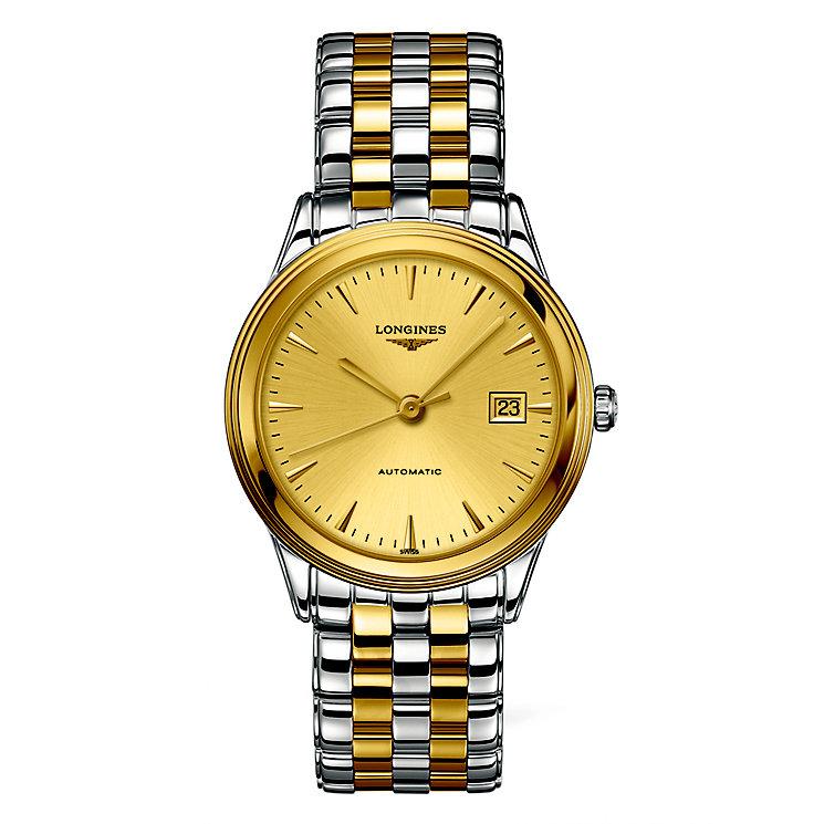 Longines Les Grandes men's two colour bracelet watch - Product number 2162938