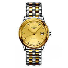 Longines Les Grandes men's two colour bracelet watch - Product number 2162938