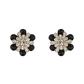 Mikey Crystal Flower Stud Earrings - Product number 2166453