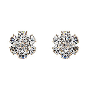 Mikey Daisy Design Crystal Stud Earrings - Product number 2166690