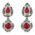 Mikey Red & Clear Crystal Drop Earrings - Product number 2166771