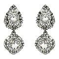 Mikey Clear Crystal Drop Earrings - Product number 2166798