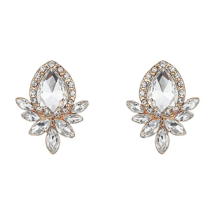 Mikey Teardrop Crystal Stud Earrings - Product number 2166879
