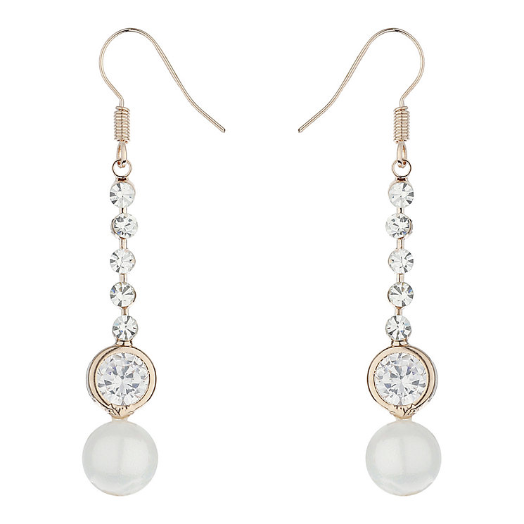 Mikey Hanging Crystal Drop Earrings - Product number 2166895