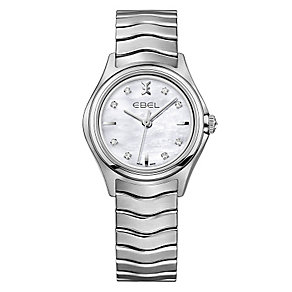 Ebel ladies' stainless steel bracelet watch - Product number 2172208