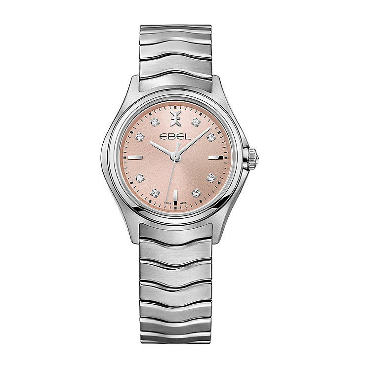 Ebel Wave ladies' stainless steel bracelet watch - Product number 2173522