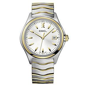 Ebel Wave men's two colour bracelet watch - Product number 2173549