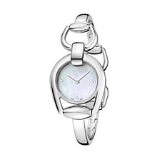 Gucci Horsebit Ladies' Stainless Steel Bracelet Watch - Product number 2173573