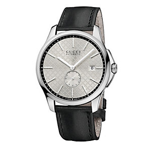 Gucci G-Timeless men's stainless steel black strap watch - Product number 2173700
