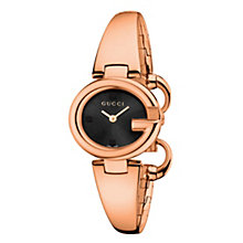 Gucci ladies' rose gold PVD bangle watch - Product number 2173808