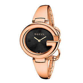 Gucci ladies' rose gold-plated bangle watch - Product number 2173816