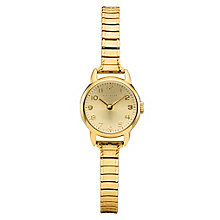 Coach ladies' gold-tone stretch bracelet watch - Product number 2174227